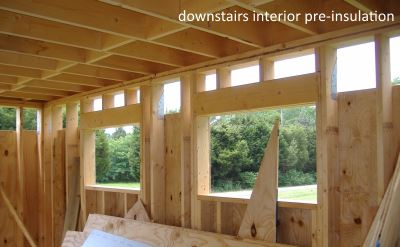house interior framed