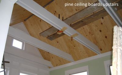 pine ceiling boards