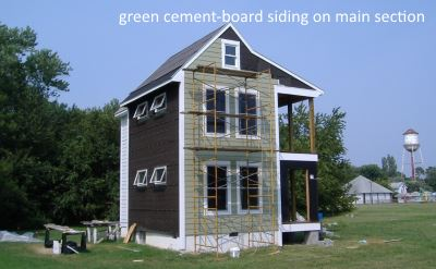 green house siding
