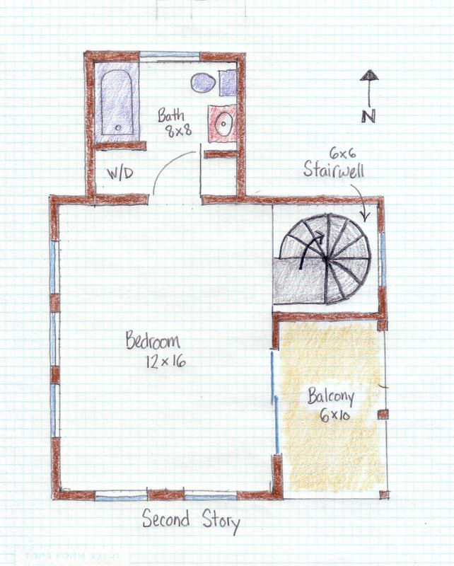 Charleston Single House Plans Floor Plans