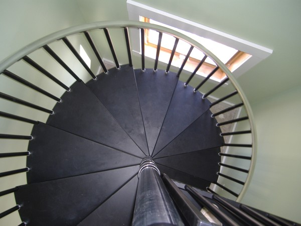 Cast Spiral Staircases - Metal Spiral stairs - Cast Iron staircases